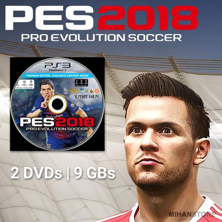 خرید بازی اورجینال PES 2018 بازی